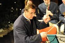 Na předvánoční náladu naladil sváteční koncert Městské hudby Františka Kmocha