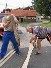 Dobrovolní hasiči z Dobrého Pole