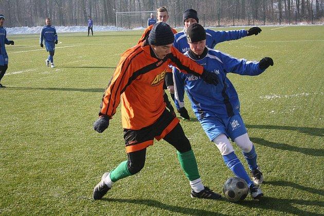 Z utkání FK Kolín - Nymburk (5:0).