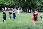 Parková Otevřená ulice sklidila v parku Komenského úspěch.