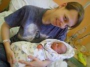 Viktorie Baková přišla na svět dne 16. ledna 2018 s mírami 42 cm a 1980 gramů. Doma v Nymburku je s maminkou Eliškou přivítá tatínek Alexandr a sestřička Klárka (2 roky).