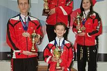 Silla získala celkem čtyři poháry.