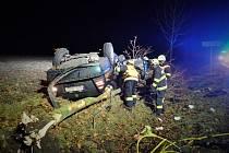 Tragická nehoda u Ovčár.