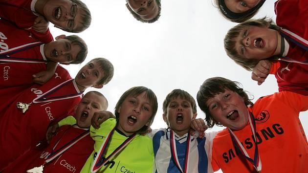 Z okresního finále přípravek mezi týmy FK Kolín A a FK Kolín B (4:0).