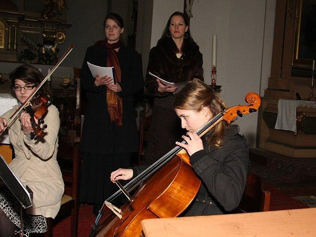 Koncert v kostele. Ohaře. 5.4. 2009