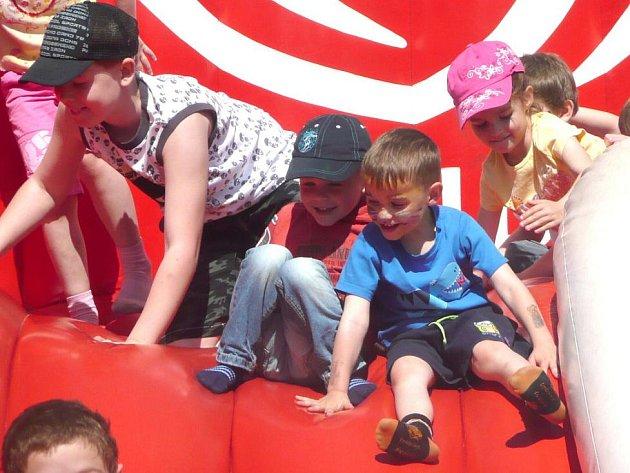 Dětský den v Kolíně 5. června 2010 - areál Vodního světa