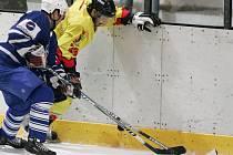 Z utkání druhé hokejové ligy Kolín - Mělník (3:1).