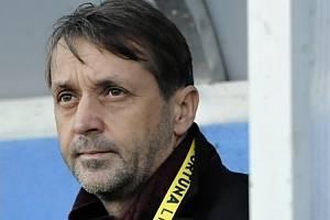 Fotbalový trenér František Šturma.