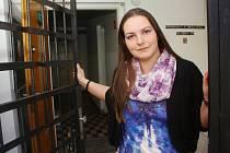 Probační úřednice Kamila Fantová z kolínského střediska probační a mediační služby.