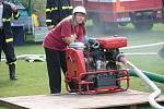 Soutěž dobrovolných hasičů ve Veletově