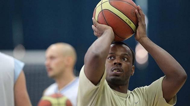 Trénink kolínských basketbalistů. 12. srpna