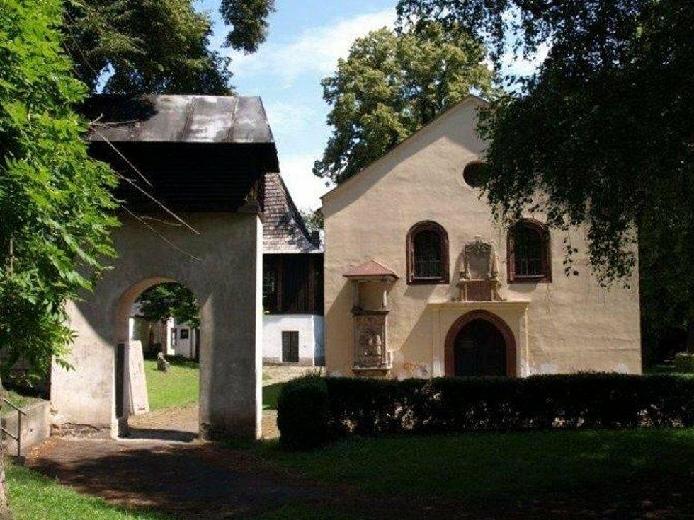 Kostel Nejsvětější Trojice v Českém Brodě.