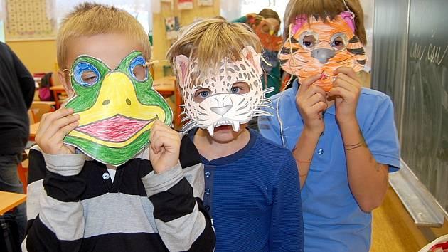 Děti si připomínaly Den zvířat