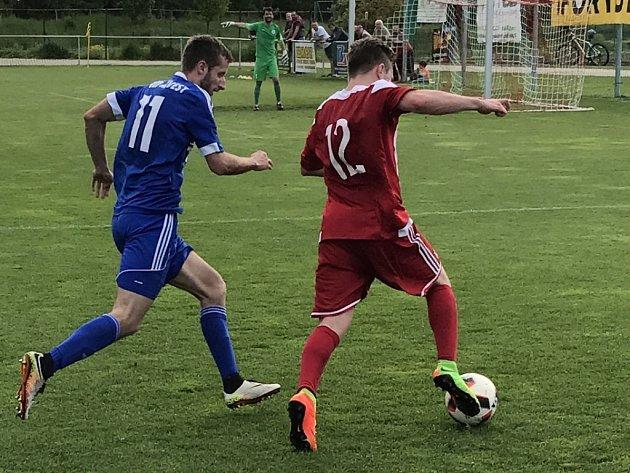 Fotbalisté Českého Brodu prohráli v Brozanech 0:4.