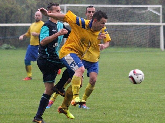 Z utkání Tuchoraz - Býchory (0:2).