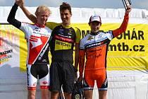 Tomáš Paprstka (vpravo) dojel v posledních dvou závodech vždy na třetím místě.