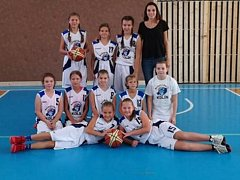 Kolínské minižákyně obsadily na domácím turnaji čtvrté místo.