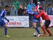 Z utkání FK Kolín - Ostrá (2:1).