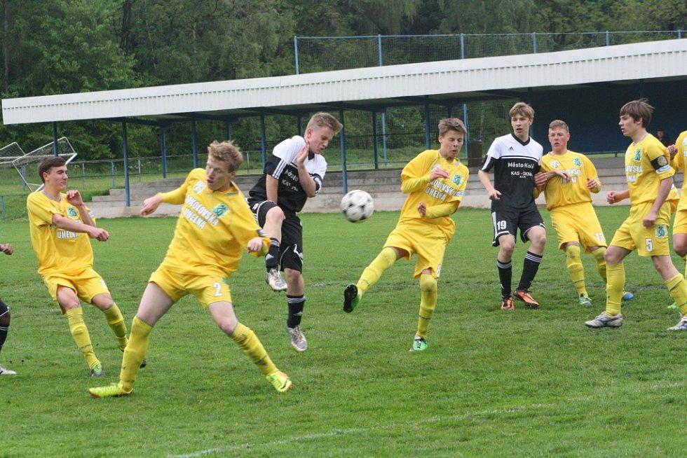 Z utkání FK Kolín U16 - Sokolov (0:1).