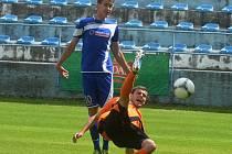 Z utkání Strakonice - FK Kolín (0:0).