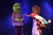 Shrek se mezi kluky těžko hledal, o princezny nouze nebyla