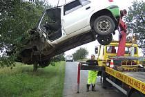 Dopravní nehoda mezi Českým Brodem a obcí Poříčany, 14.7.2009