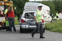 Nehoda u Nové Vsi I. 9.6. 2009