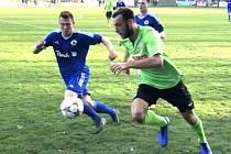 Z utkání Český Brod - Benátky nad Jizerou (2:0).