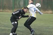 Z přípravného utkání FK Kolín - Neratovice (1:2).