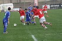 Z utkání FK Kolín - Kunice (1:1).