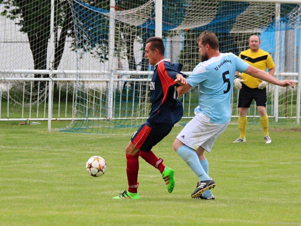 Z utkání Tuchoraz - Býchory (7:1).