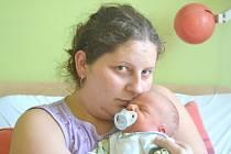 Lukáš Kořínek spatřil světlo světa 23. února 2014. Jeho první míry byly 49 centimetrů a 3100 gramů. Maminka Eliška a tatínek Lukáš s ním zamířili do Bečvár za šestiletou Sabinou.