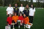 Vítěz Podlipanské ligy 2010 - ženy - Kostelec nad Černými lesy