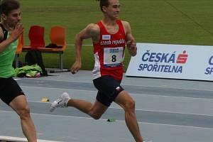 Kolínský atlet Štěpán Hampl.