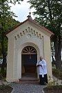 Kaple Panny Marie byla vysvěcená