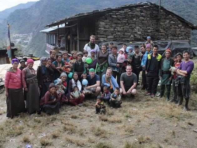 Kateřina Peukerová vyrazila do Nepálu.