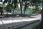 Rekonstrukce hřiště v Seifertově ulici v Kolíně