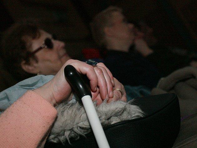 První komentované promítání pro nevidomé a slabozraké v Kolíně