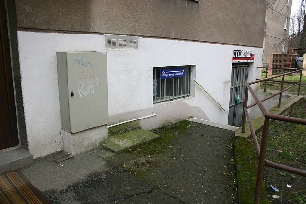 Stav domů v Družstevní ulici v Kolíně