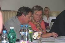 Ustavující zasedání zastupitelstva Peček, listopad 2014