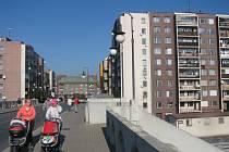 Bytové domy v ulici Antonína Kaliny určené k privatizaci