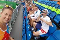 Kateřina Šafránková si našla čas a navštívila jiné sporty.