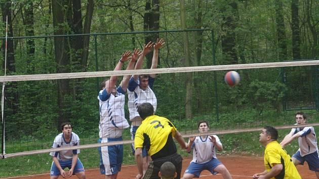 Z utkání VK Kolín - Přerov nad Labem (3:2).