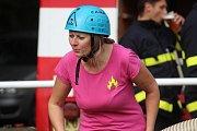 V Zásmukách uspořádali soutěž v požárním sportu.
