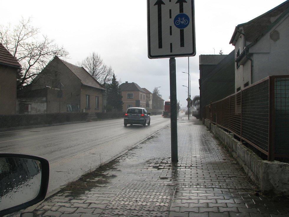 Odpolední vlna větru na Kolínsku - Velký Osek