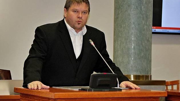 Středočeský radní pro oblast investic a veřejných zakázek Martin Herman.