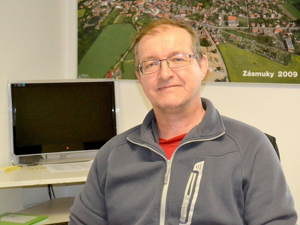 Starosta Zásmuk Josef Krombholz.