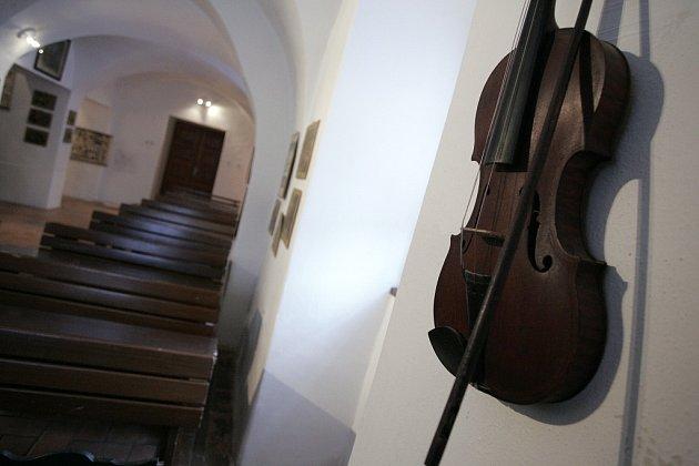 Zahájení nové výstavy v kouřimském muzeu.