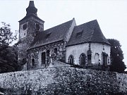 Kostel Zvěstování Panny Marie byl postaven v desátém století původně jako rotunda.