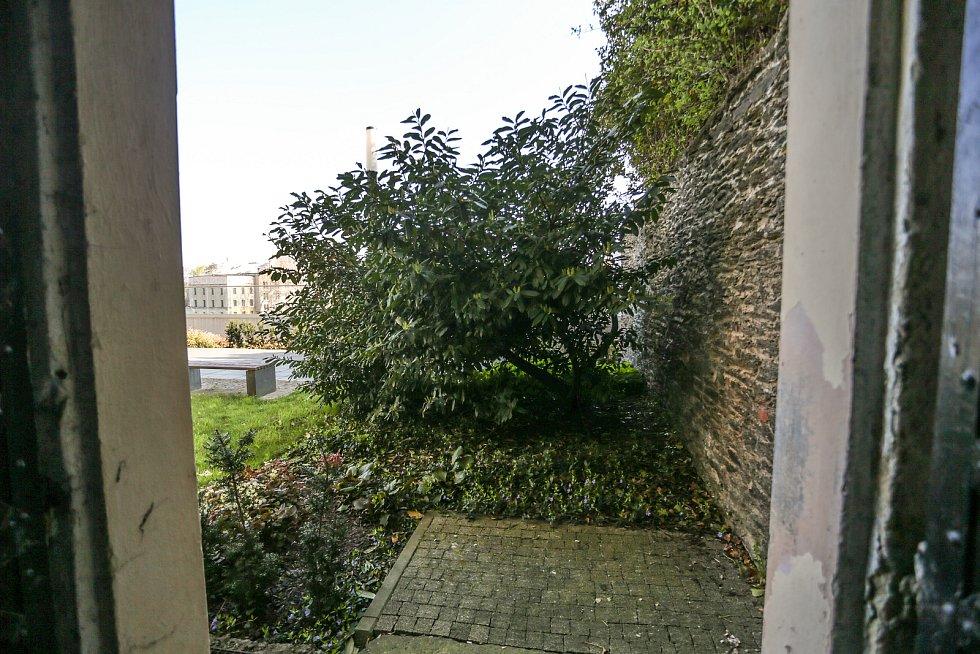 Radnice v Kolíně: výhled na parkány.